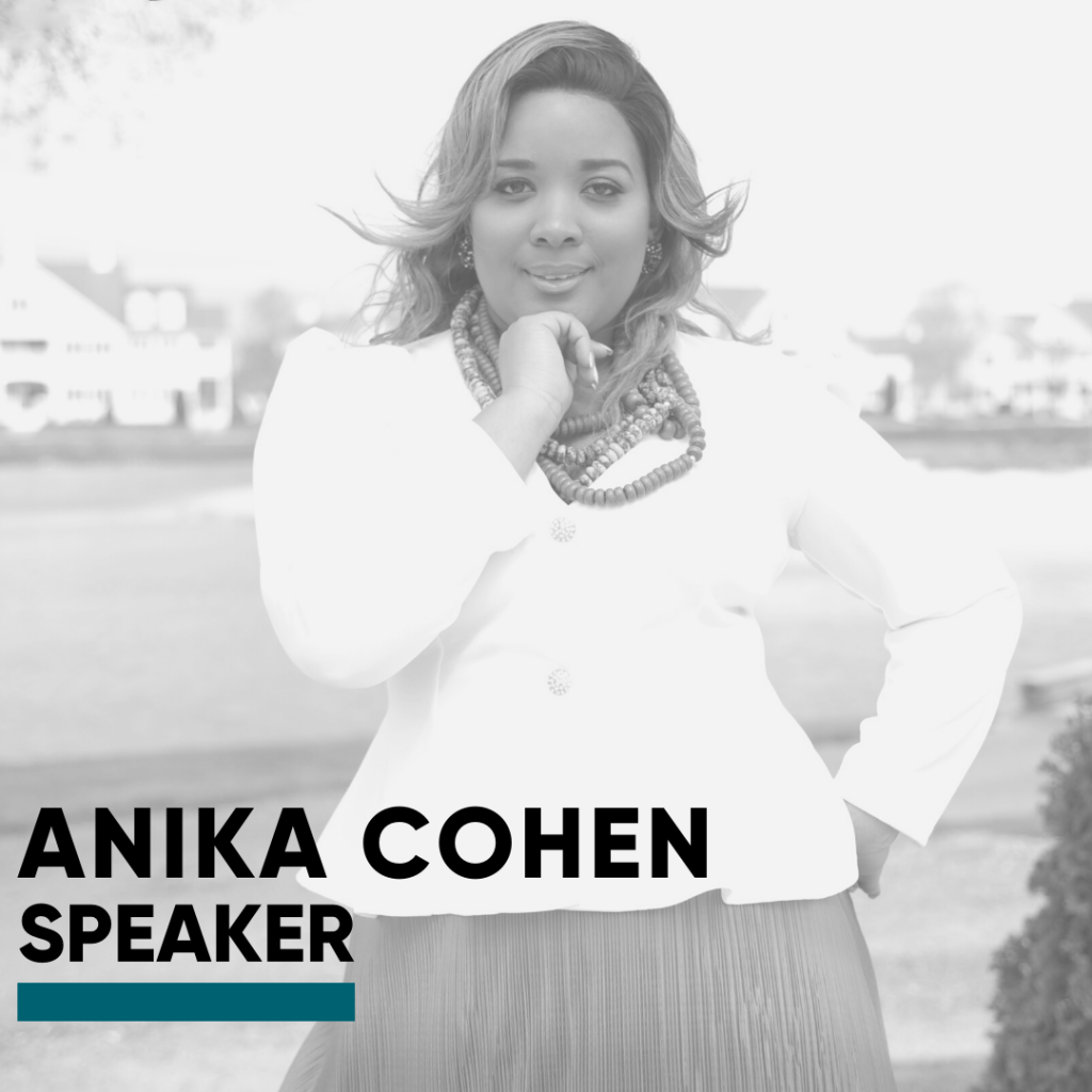 Speaker-Anika Cohen