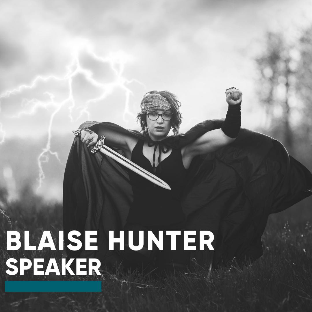 Speaker-Blaise Hunter
