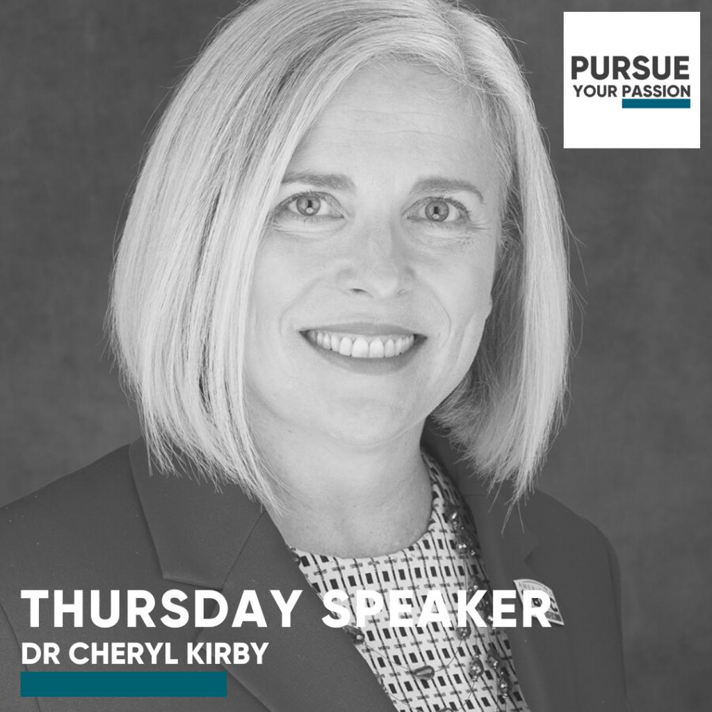Speaker-Cheryl Kirby