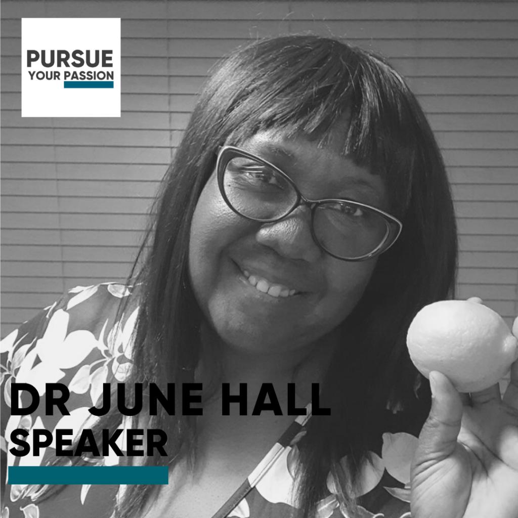 Speaker-June Hall