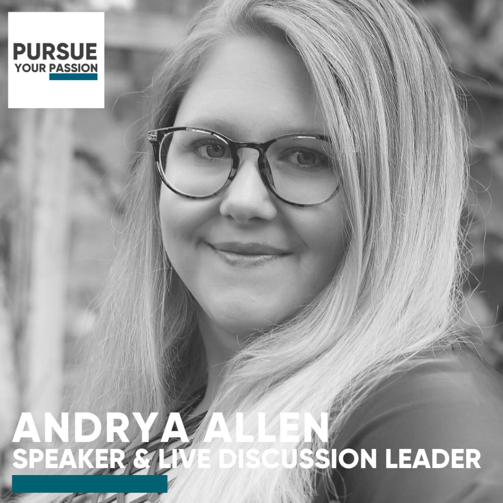 Speaker & Live-Andrya Allen