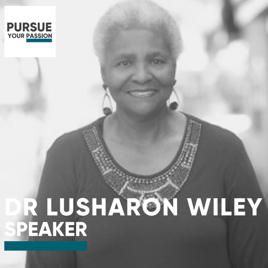 Speaker-Lusharon Wiley