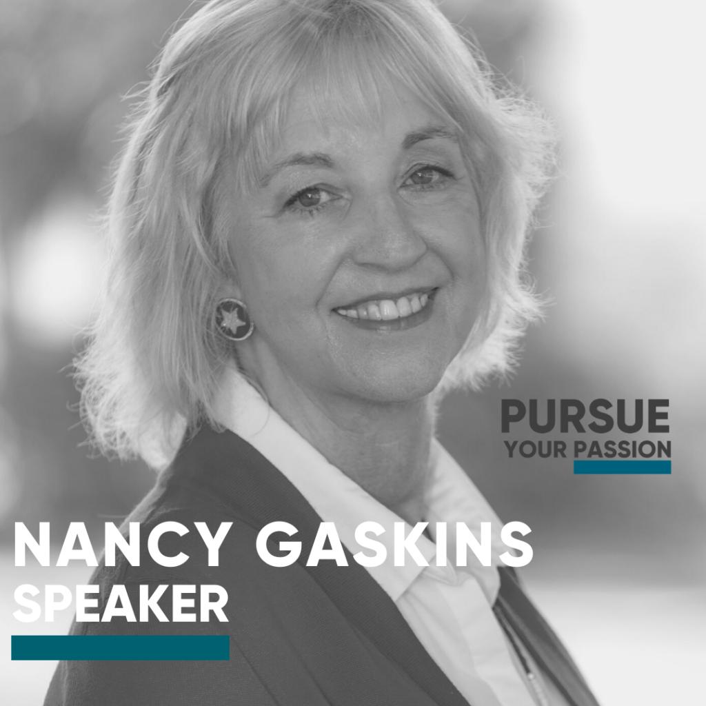 Speaker-Nancy Gaskins