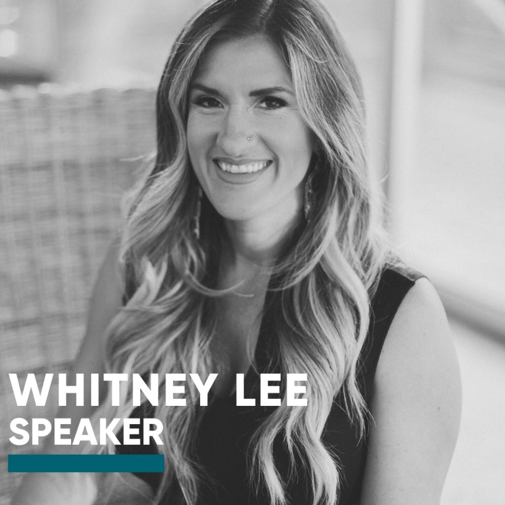 Speaker-Whitney Lee
