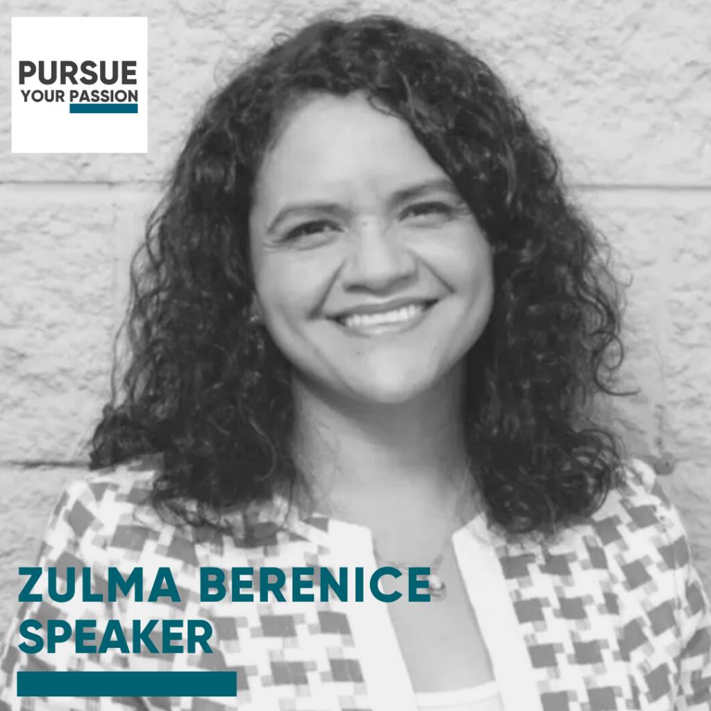 Speaker-Zulma Berenice